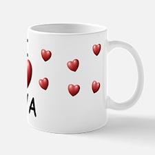 I Love Eva - Mug