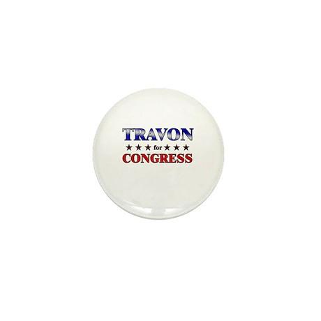 TRAVON for congress Mini Button