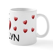 I Love Evelyn - Mug