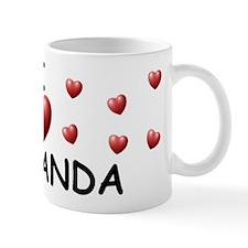 I Love Fernanda - Mug