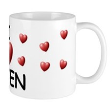 I Love Keven - Coffee Mug