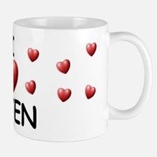 I Love Keven - Small Small Mug