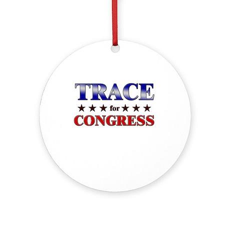 TRACE for congress Ornament (Round)