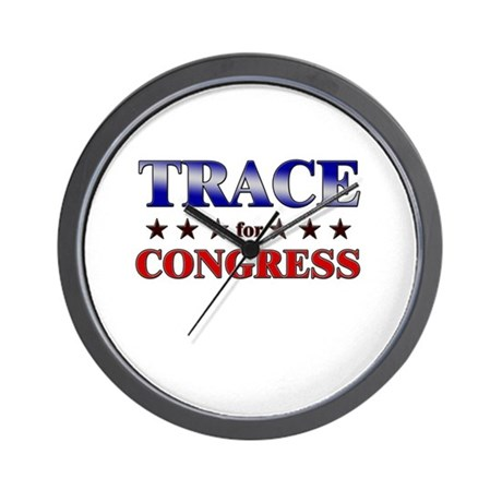 TRACE for congress Wall Clock