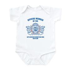 Entlebucher Mountain Dog Infant Bodysuit
