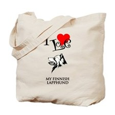 Finnish Lapphund Tote Bag