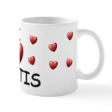 I Love Kurtis - Small Mug