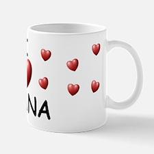 I Love Giana - Mug