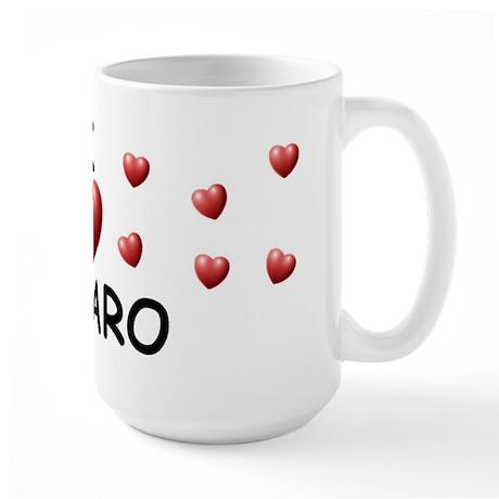 I Love Lazaro - Large Mug