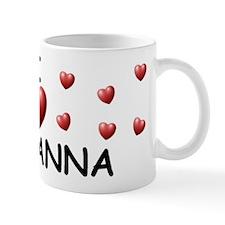 I Love Giovanna - Mug