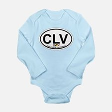 Oceanside - California Long Sleeve Infant Bodysuit