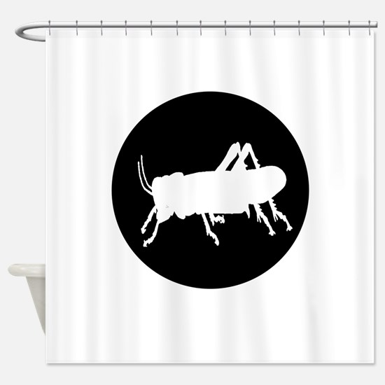 Grasshopper Shower Curtain