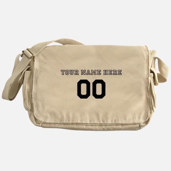 Personalized Baseball Messenger Bag
