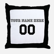 Personalized Baseball Throw Pillow