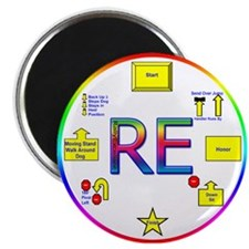 """Rally Excellent 2.25"""" Magnet (10 pack)"""