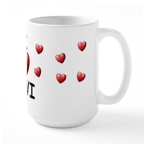 I Love Levi - Large Mug