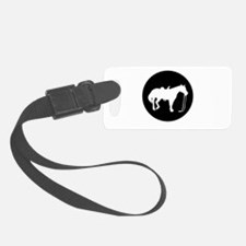 Horse silhouette Luggage Tag