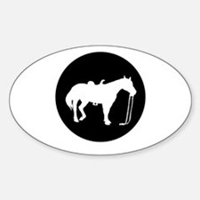 Horse silhouette Decal