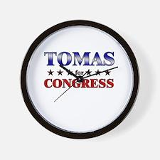 TOMAS for congress Wall Clock