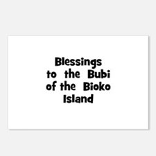 Blessings  to  the  Bubi of t Postcards (Package o
