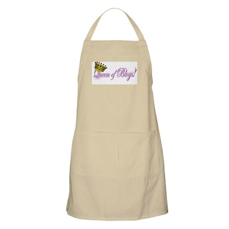 Queen of Blogs BBQ Apron