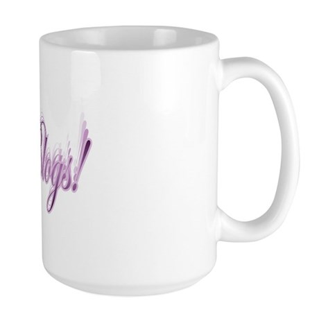 Queen of Blogs Large Mug