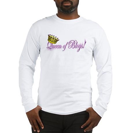 Queen of Blogs Long Sleeve T-Shirt