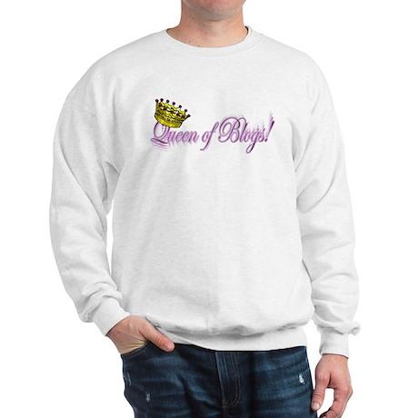 Queen of Blogs Sweatshirt