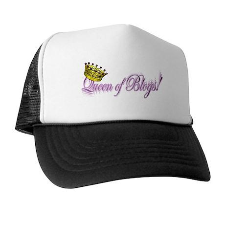 Queen of Blogs Trucker Hat