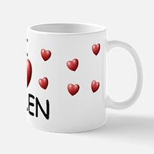 I Love Helen - Mug