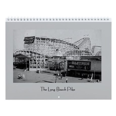 "Long Beach Pike 11"" Calendar"