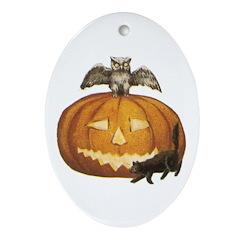 Halloween 52 Oval Ornament