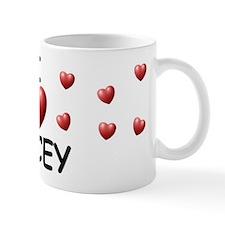 I Love Jacey - Mug