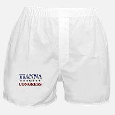 TIANNA for congress Boxer Shorts