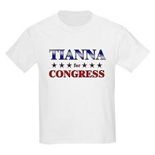 TIANNA for congress T-Shirt