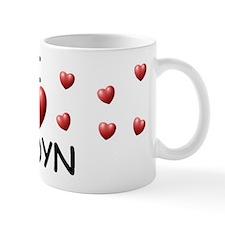 I Love Jadyn - Mug