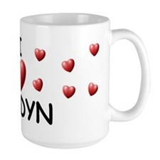 I Love Jaidyn - Mug