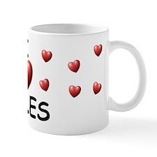 I Love Miles - Small Mug