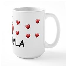 I Love Jakayla - Mug