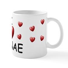 I Love Janae - Mug