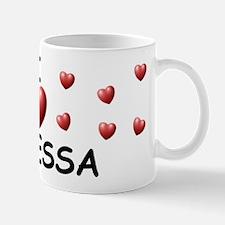 I Love Janessa - Mug