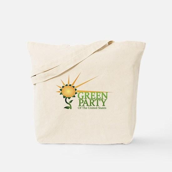Green Party alternate logo Tote Bag