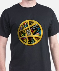 Doctor Strange Sanctum Window Collage T-Shirt