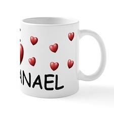 I Love Nathanael - Mug