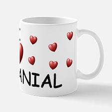 I Love Nathanial - Mug