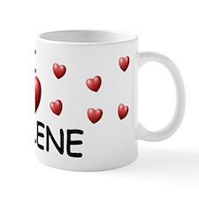 I Love Jaylene - Small Mug
