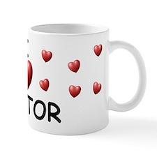 I Love Nestor - Small Mugs