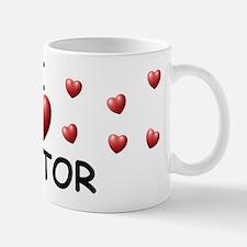 I Love Nestor - Small Small Mug