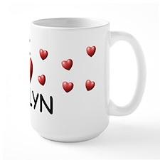 I Love Jaylyn - Mug