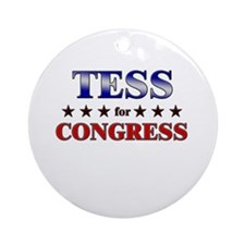 TESS for congress Ornament (Round)